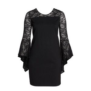 NWT Size 16W Vince Camuto Bell Sleeve Shift Dress